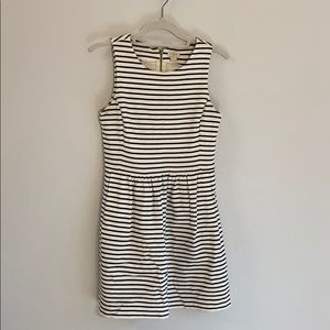 J crew XS dress with zipper back